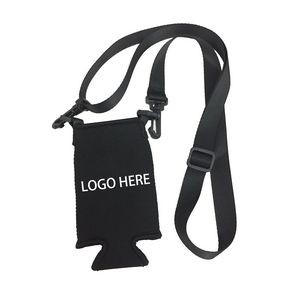 Lanyard with Neoprene Can Cooler